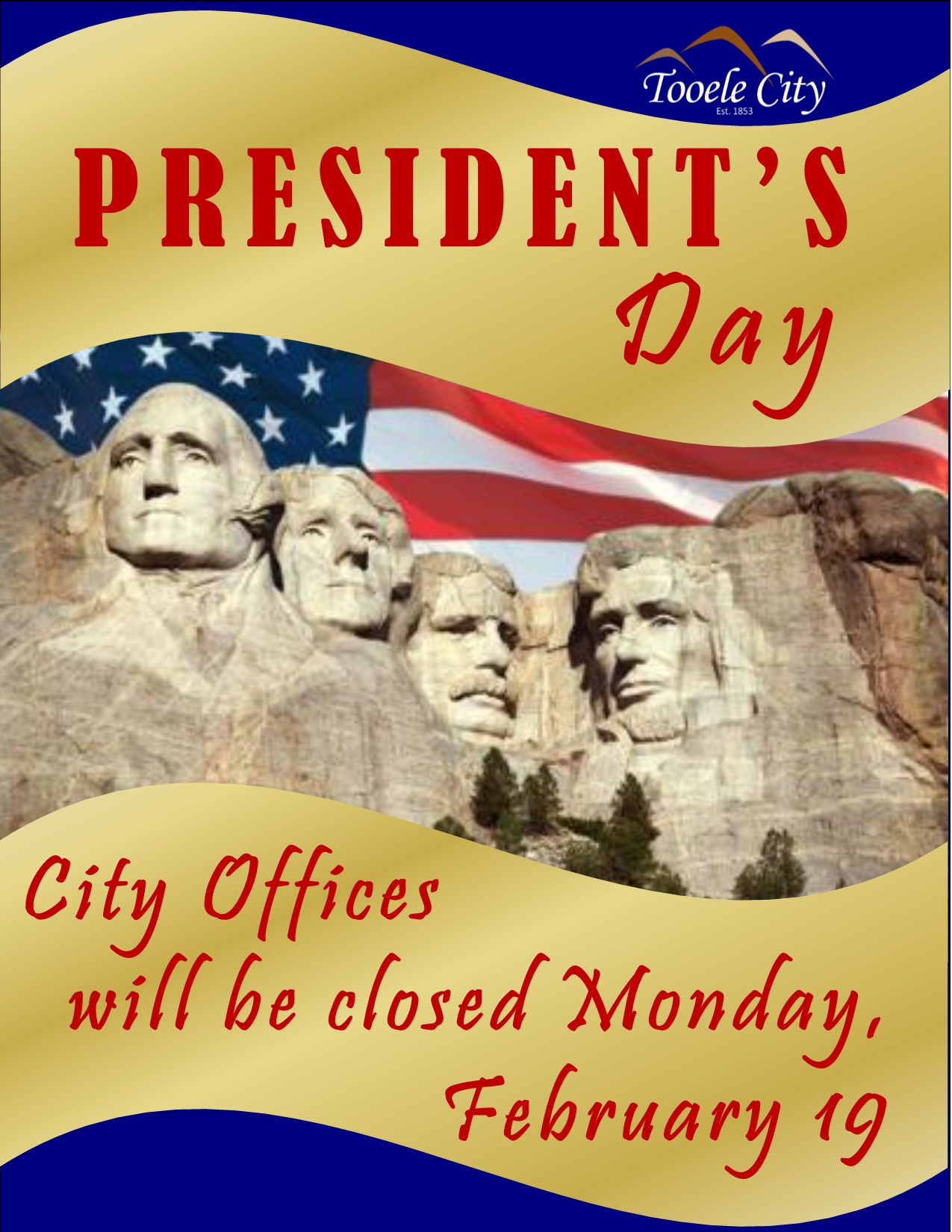 President's Day 2018 (City Offices)