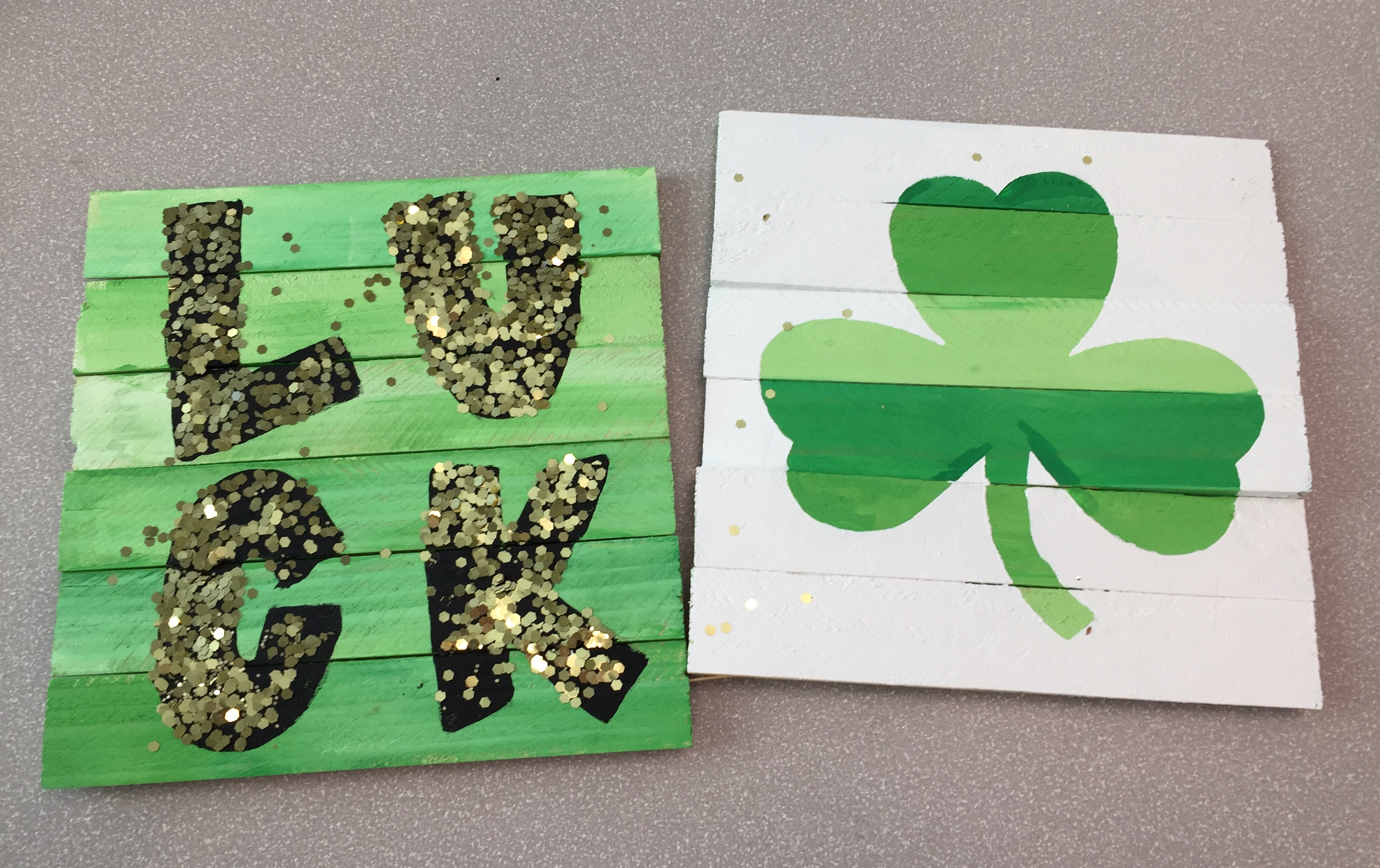 St Patrick's Day Craft 2019