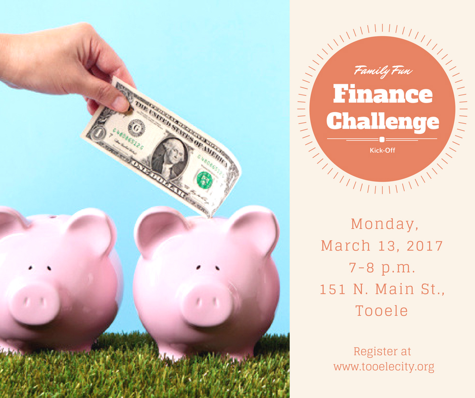 FREE Family Activity:  Family Fun Finance Challenge Kick-Off @ USU Extension - Tooele County | Tooele | Utah | United States