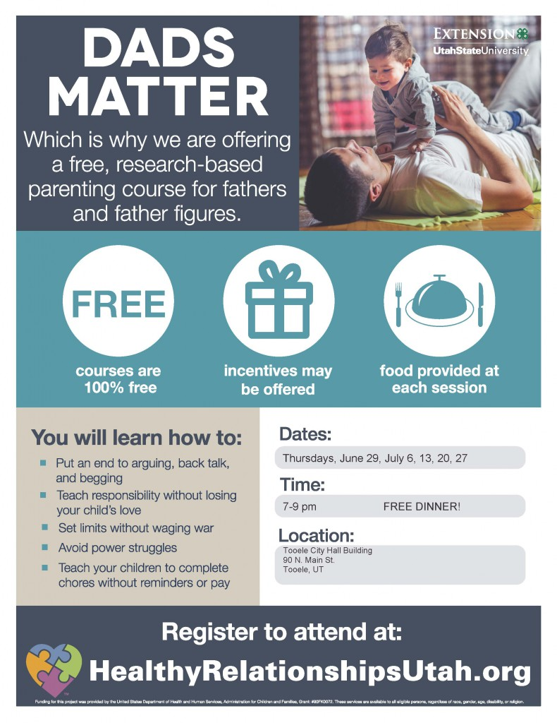 Dads Matter @ Tooele City Hall | Tooele | Utah | United States