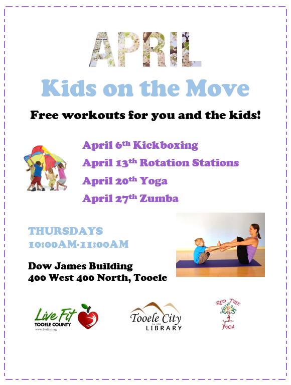Kids on the Move:  Rotation Stations @ Dow James Building | Tooele | Utah | United States