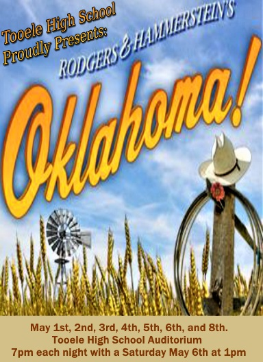"T.H.S. Theatre presents ""Oklahoma"" @ Tooele High School Auditorium 