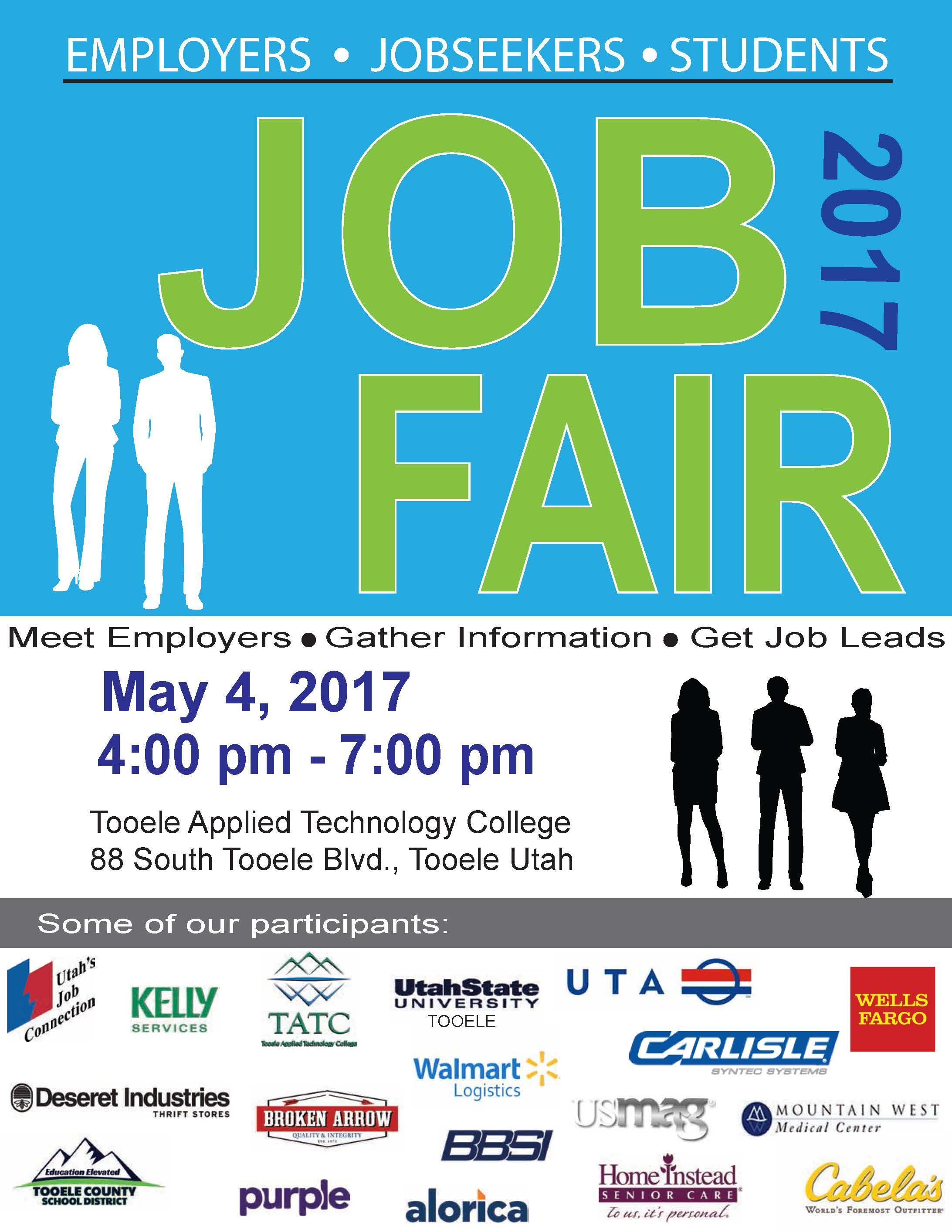 Job Fair at TATC @ Tooele Applied Technology College (TATC) | Tooele | Utah | United States