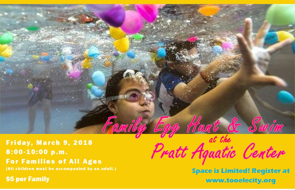 Egg Hunt and Swim March 2018