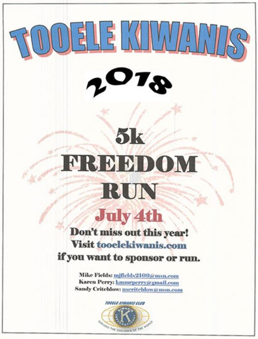 5K Freedom Run 2018 @ Starts up Settlement Canyon | Tooele | Utah | United States