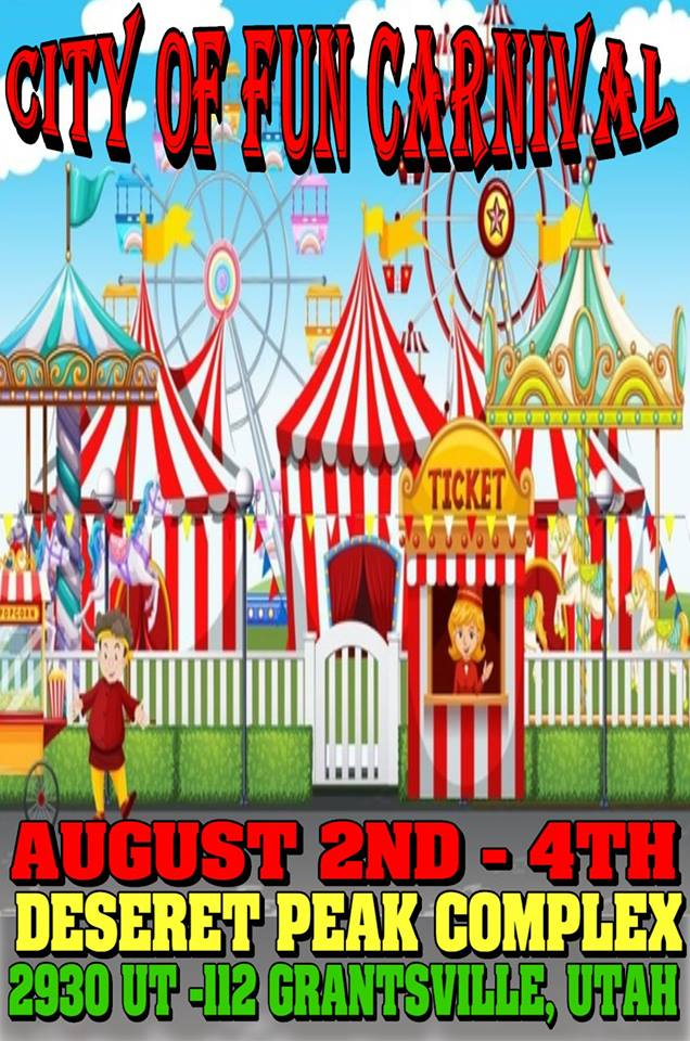Tooele County Fair - City of Fun Carnival 2018