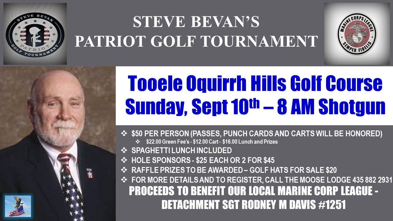 Steve Bevan's Patriot Golf Tournament @ Oquirrh Hills Golf Course | Tooele | Utah | United States