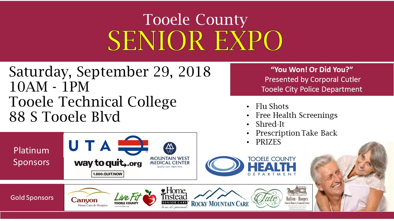 Tooele County Senior Expo @ Tooele Technical College | Tooele | Utah | United States