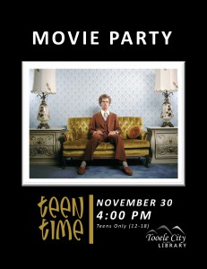 Teen Time: Napoleon Dynamite (Movie) @ Tooele City Library | Tooele | Utah | United States