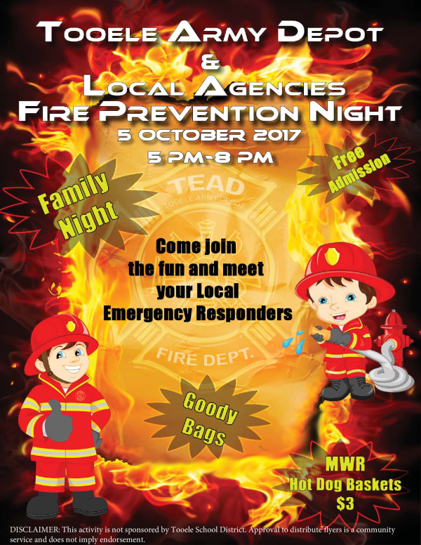 Depot Fire Prevention Night