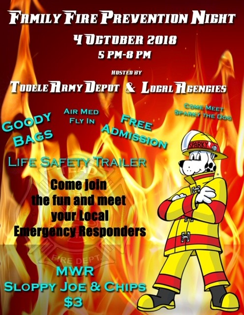 Family Fire Prevention Night @ Tooele Army Depot | Toronto | Ontario | Canada