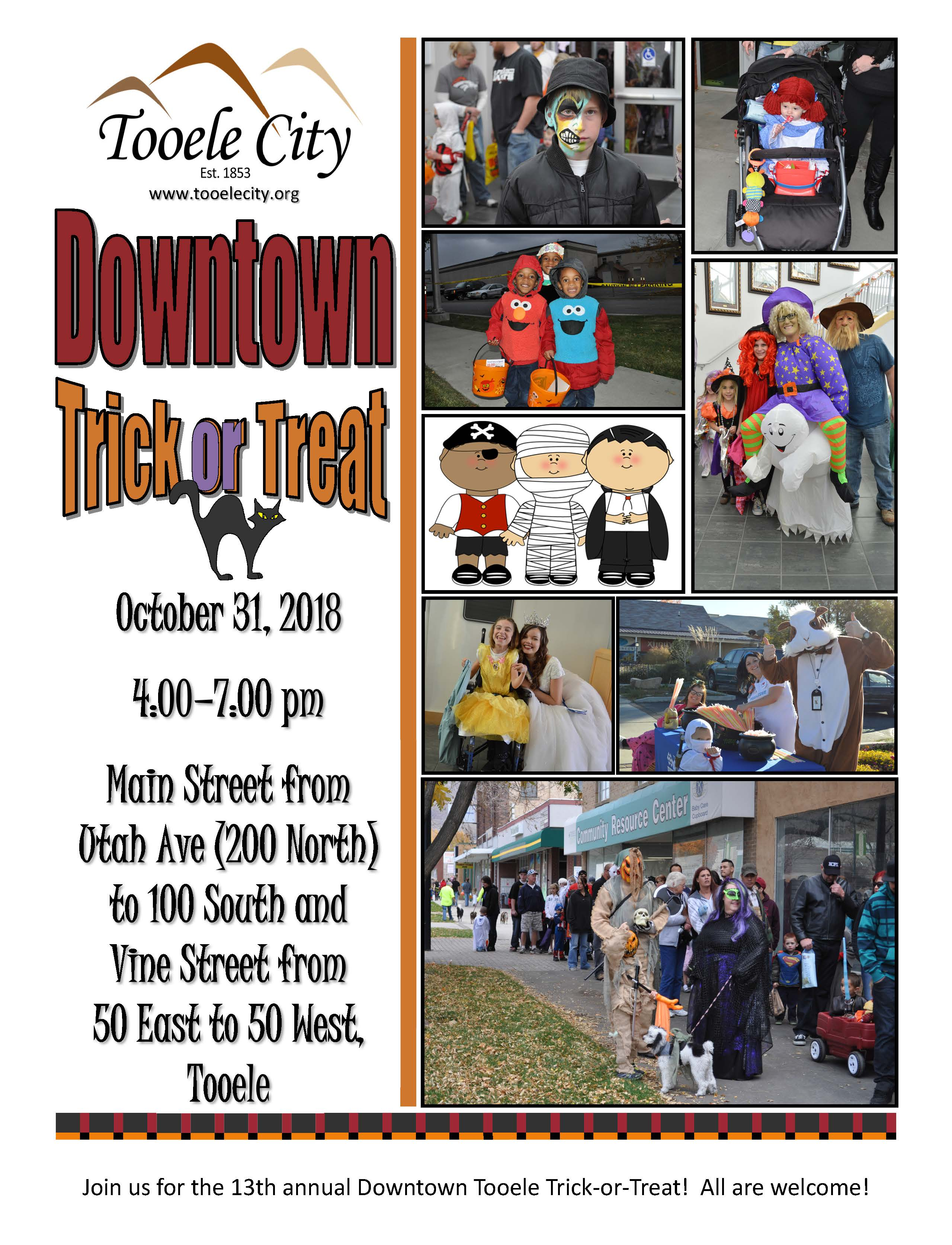 Downtown Trick-or-Treat (Public) 2018