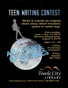 Library: Teen Writing Contest @ Tooele City Library | Tooele | Utah | United States