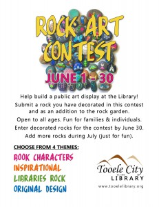 Library: Rock Art Contest @ Tooele City Library | Tooele | Utah | United States