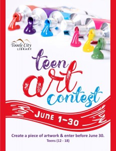 Library: Teen Art Contest @ Tooele City Library | Tooele | Utah | United States