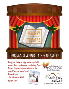 Reader's Theatre: The Christmas Wish @ Tooele City Library | Tooele | Utah | United States