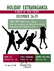 Teen Chill Time @ Tooele City Library | Tooele | Utah | United States