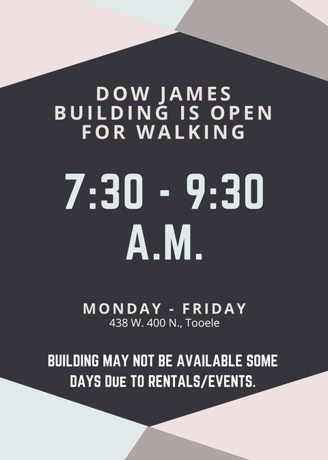 Dow James Building is Open for Walking 2017