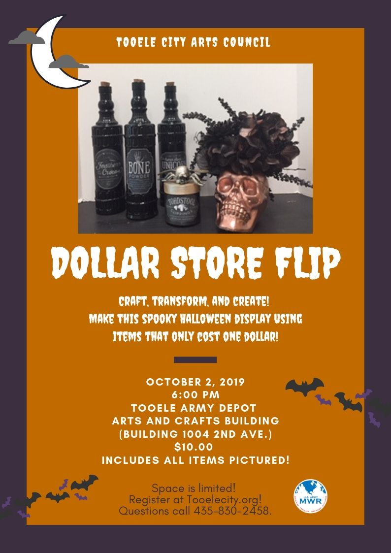 Dollar Store Flip Class - Halloween - October 2, 2019