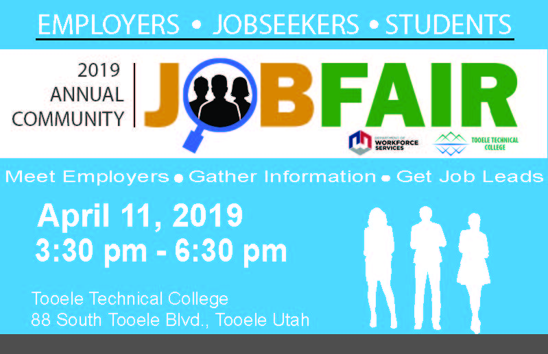 Job Fair 2019 @ Tooele Technical College (TTC) | Tooele | Utah | United States