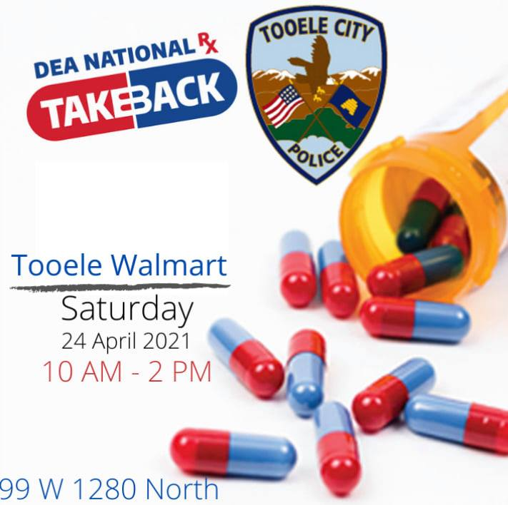 DEA National Drug Take Back @ Tooele Walmart | Tooele | Utah | United States
