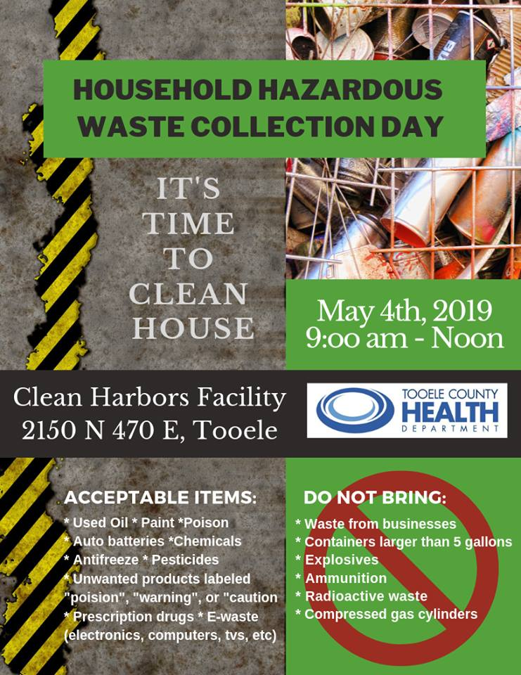 Household Hazardous Waste Collection Day 2019 @ Clean Harbors Facility - 2150 N. 470 E., Tooele | Tooele | Utah | United States