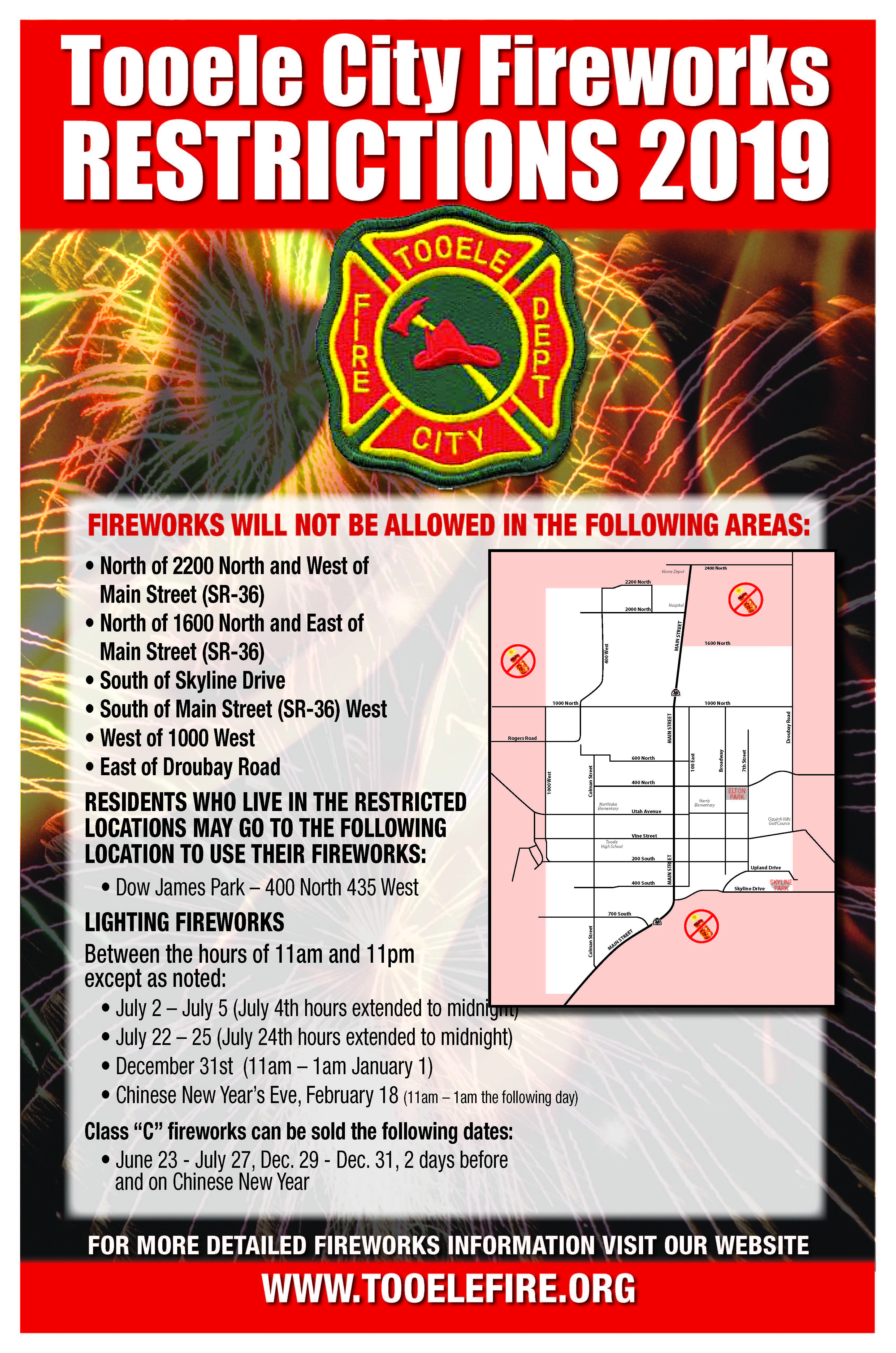 Fire Restrictions 2019
