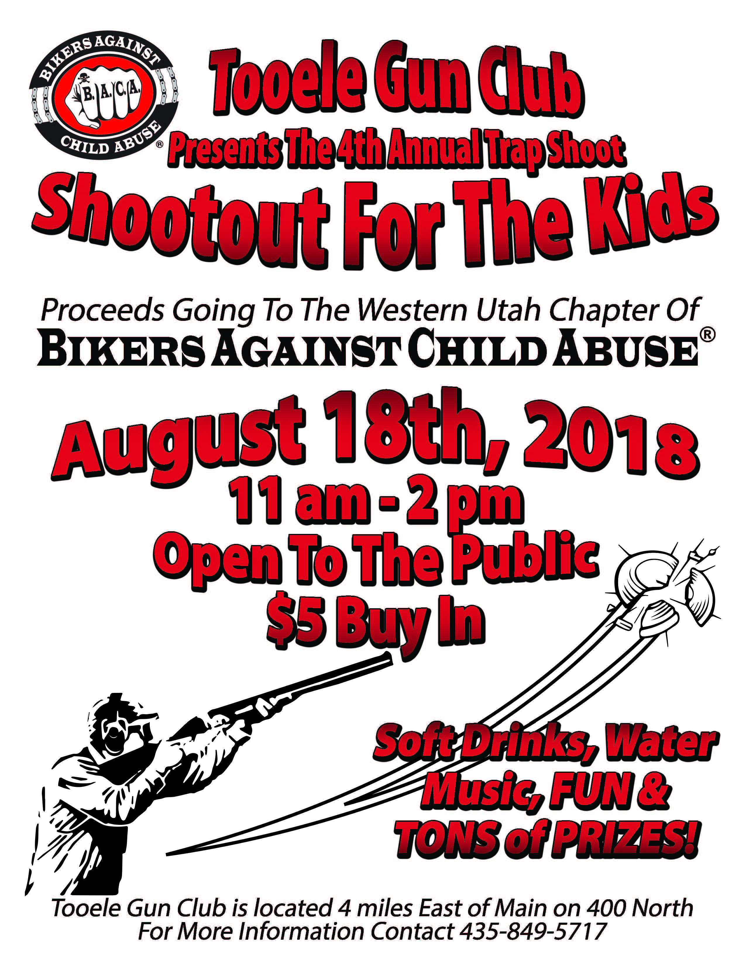 B.A.C.A. Shootout for the Kids 2018 @ Tooele Gun Club | Fayetteville | Arkansas | United States