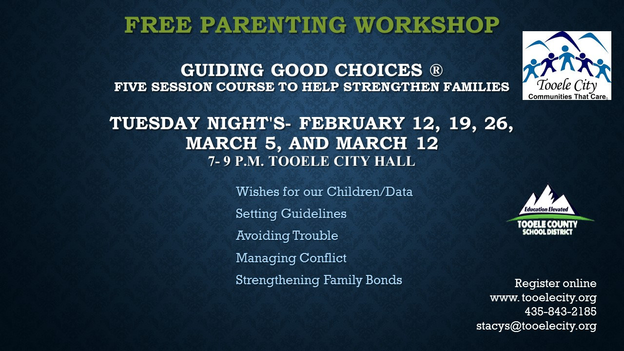 Guiding Good Choices Workshop February 2018