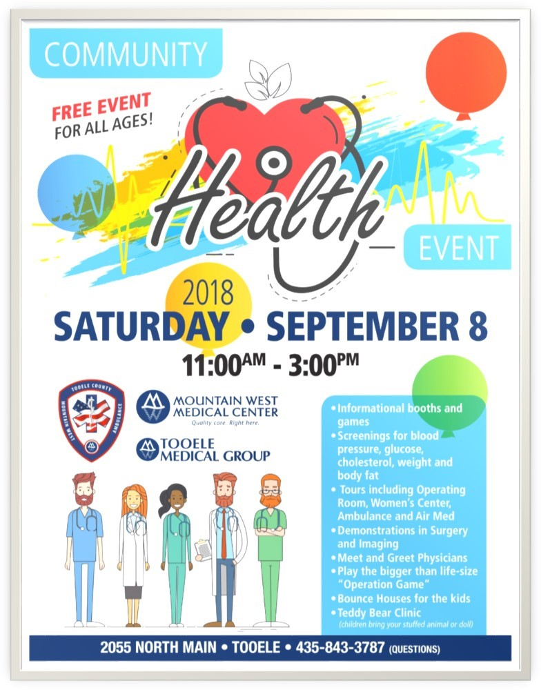 Community Health Event @ Mountain West Medical Center | Tooele | Utah | United States