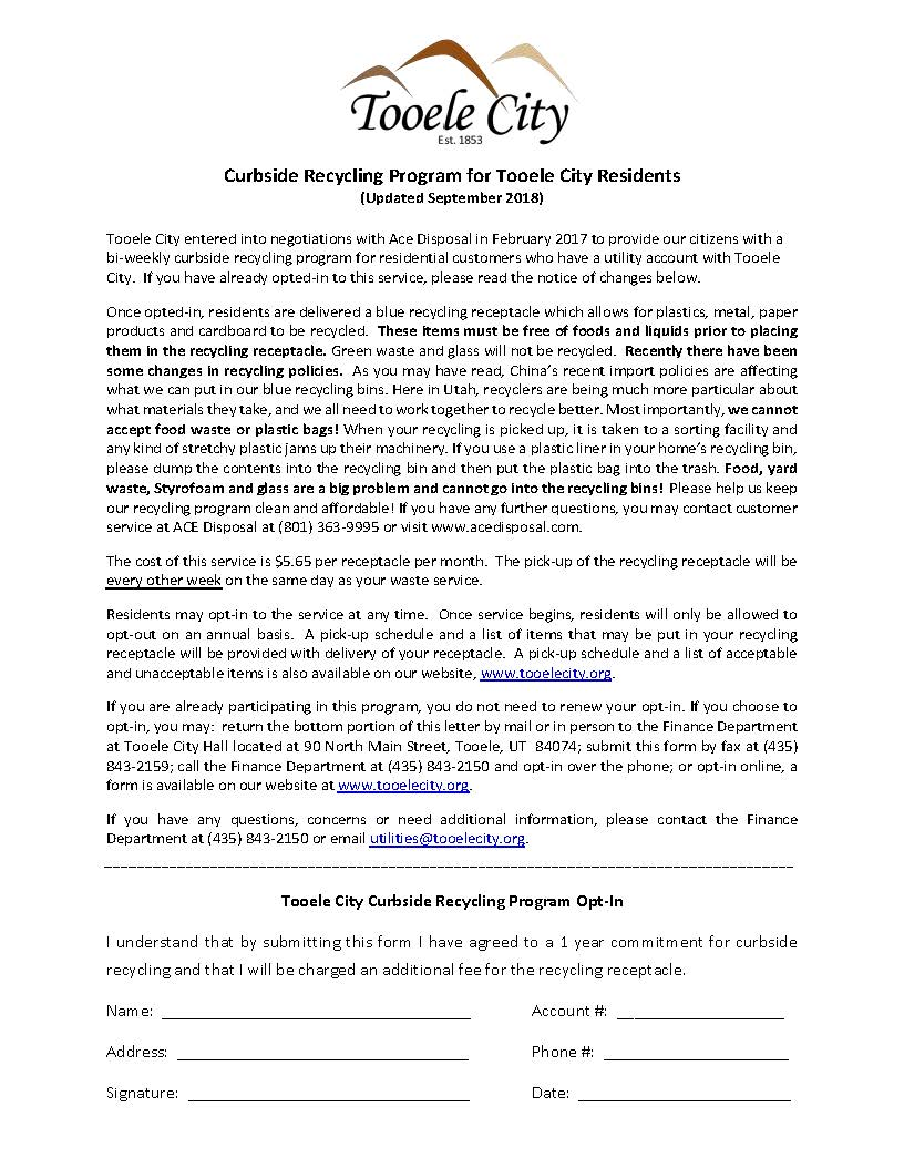 Recycling Opt In Letter September 2018_updated