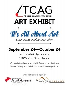 Art Exhibit: It's All About Art @ Tooele City Library | Tooele | Utah | United States