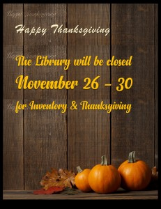 Library Closed: Inventory @ Tooele City Library | Tooele | Utah | United States