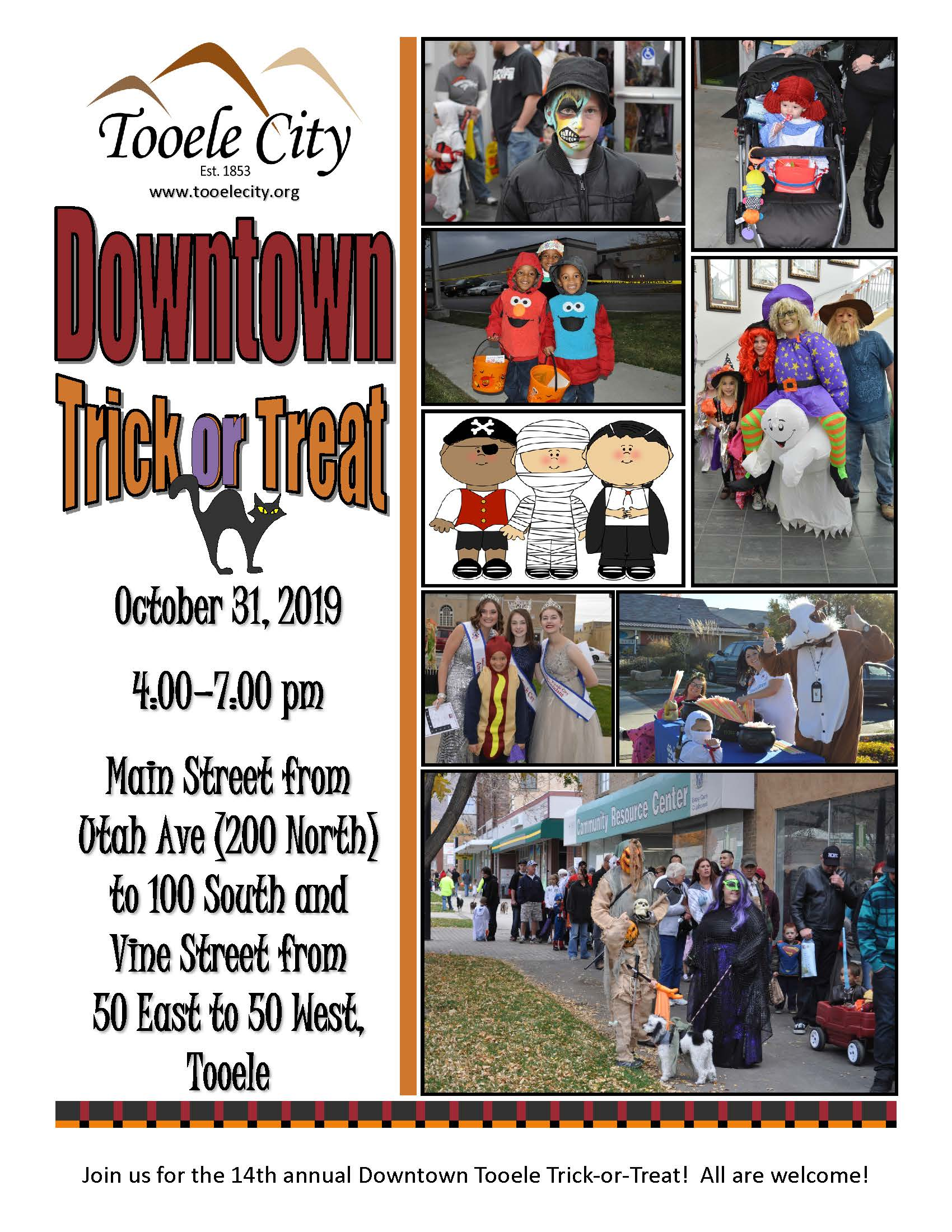 Downtown Trick-or-Treat (Public) 2019