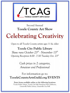 Celebrating Creativity Art Exhibit @ Tooele City Library | Tooele | Utah | United States