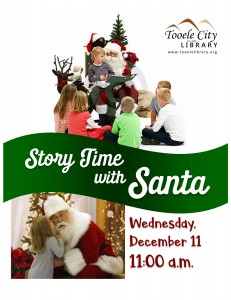 Story Time with Santa! @ Tooele City Library | Tooele | Utah | United States