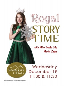 Royal Story Time @ Tooele City Library | Tooele | Utah | United States