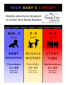 Story Time (4-5 year olds) @ Tooele City Library | Tooele | Utah | United States