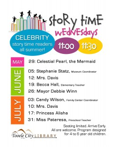 Celebrity Story Time (4-6 year olds) @ Tooele City Library | Tooele | Utah | United States