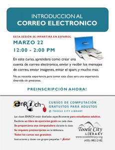 03 22 Enrich Email - Spanish