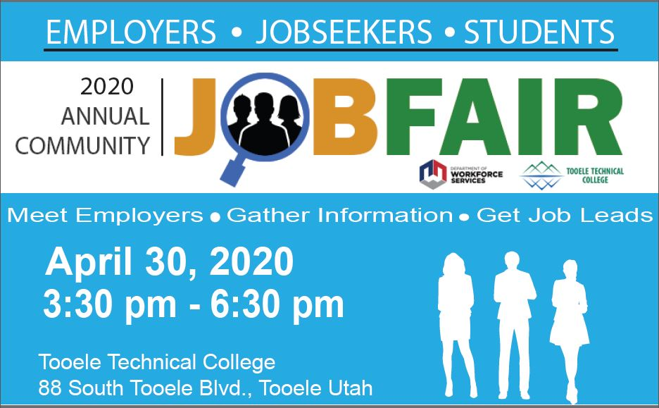 Job Fair 2020 @ Tooele Technical College (TTC) | Tooele | Utah | United States