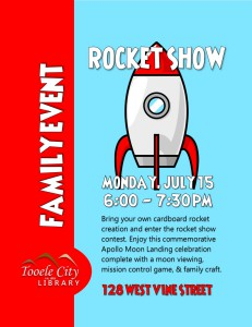 Family Event: Rocket Show @ Tooele City Library | Tooele | Utah | United States