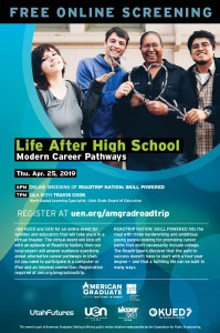 UEN Film Screening: Life After High School @ Tooele City Library | Tooele | Utah | United States