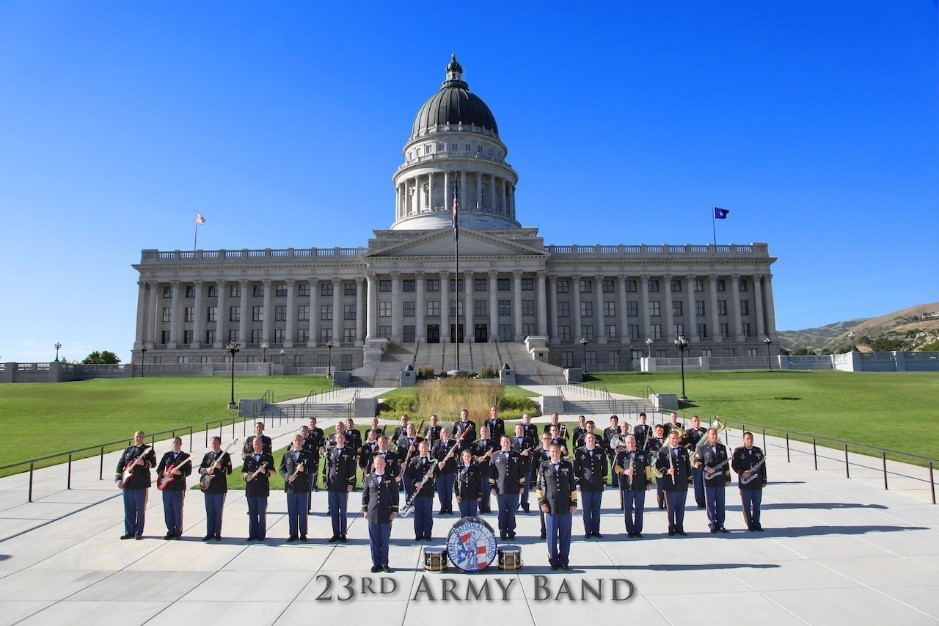Fridays on Vine:  The Army National Guard Band @ Aquatic Center Park | Tooele | Utah | United States