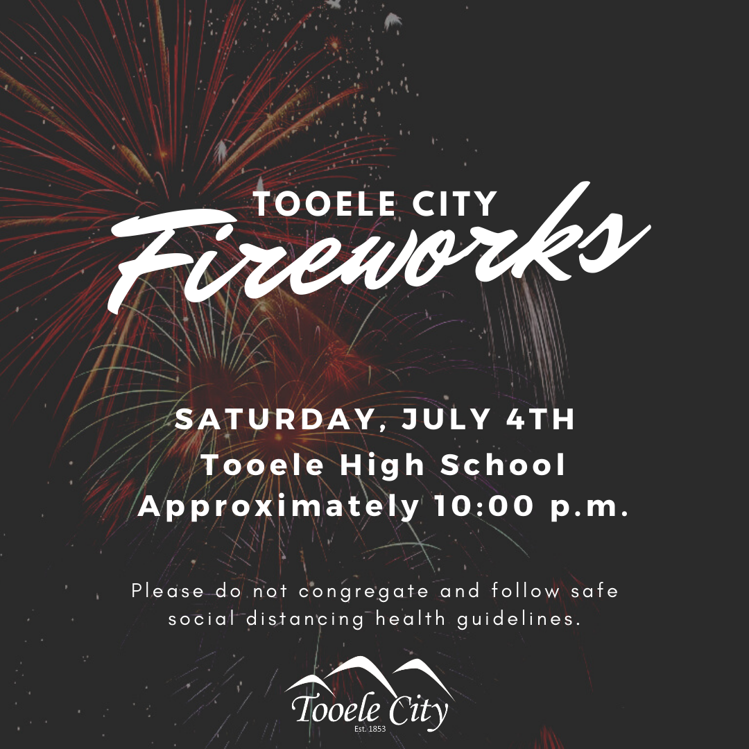 Tooele City 4th of July Fireworks Show! @ Tooele High School Football Field | Tooele | Utah | United States
