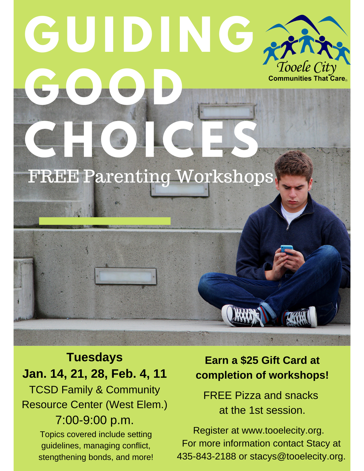 Guiding Good Choices Parenting Workshop January 2020
