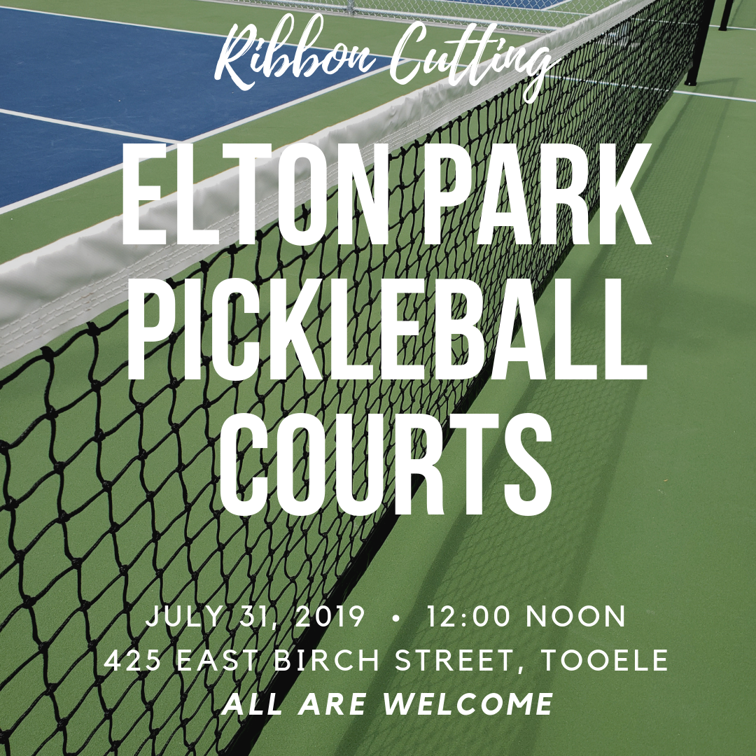 Ribbon Cutting:  Elton Park Pickleball Courts @ Elton Park Pickleball Courts