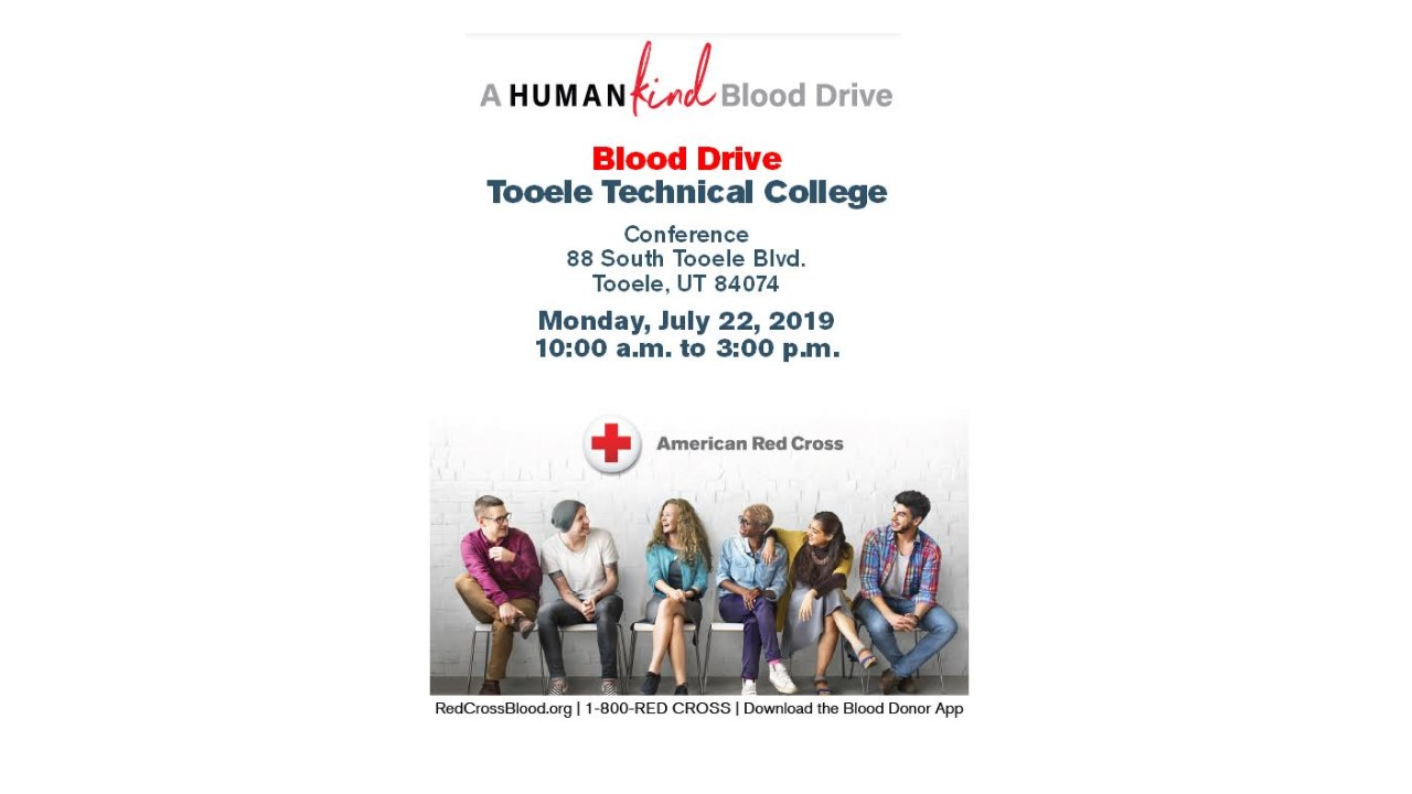 Tooele Technical College Blood Drive @ Tooele Technical College