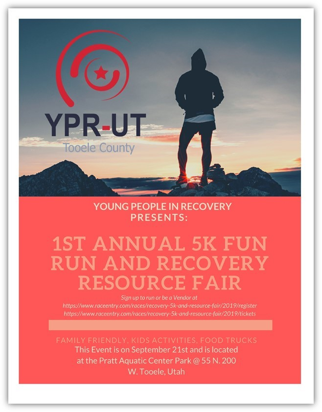 1st Annual 5K Fun Run and Recovery Resource Fair @ Aquatic Center Park