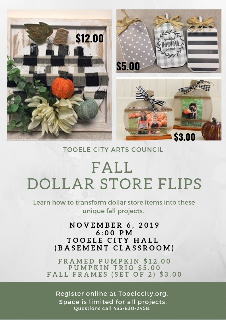 Fall Dollar Flip Class 2019 - November 6, 2019
